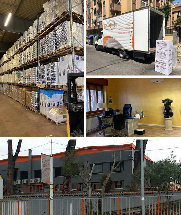 Blasi traslochi servizi logistica Roma